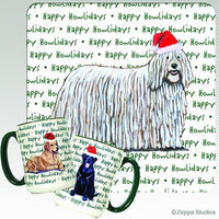 Komondor Holiday Mug