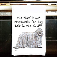 Komondor Tea Towel