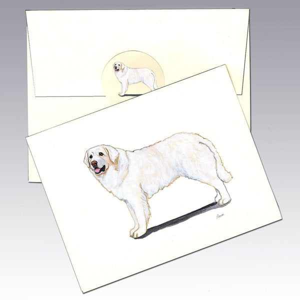 Kuvasz Note Cards