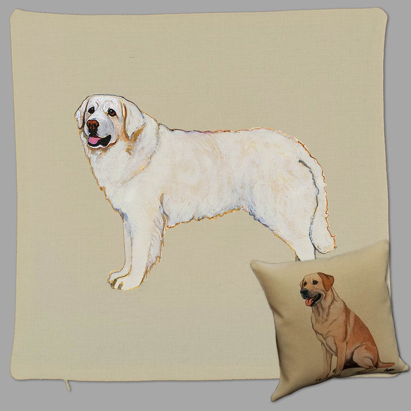 Kuvasz Pillow Cover