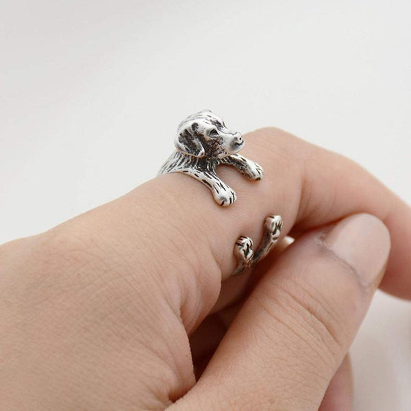 Labrador Retriever Wrap Ring