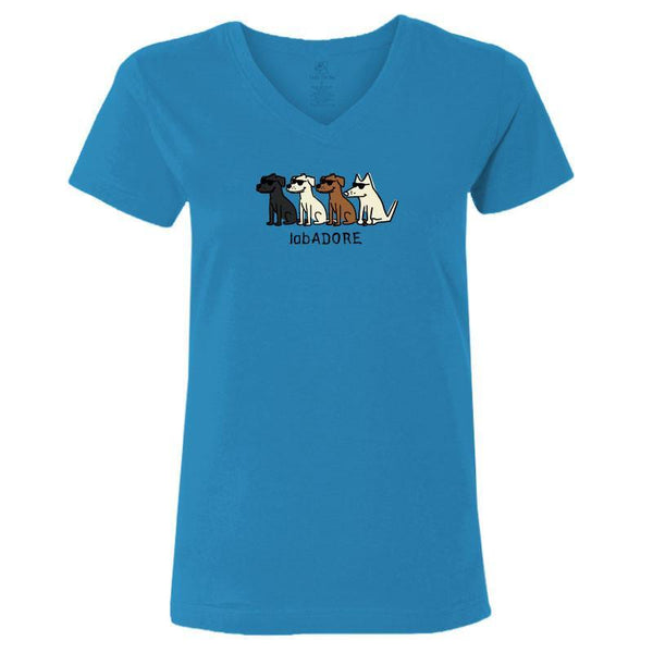 LabADORE Ladies V-Neck Tee