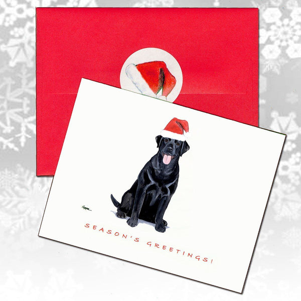 Labrador Retriever Christmas Note Cards
