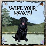 Labrador Retriever Slate Sign