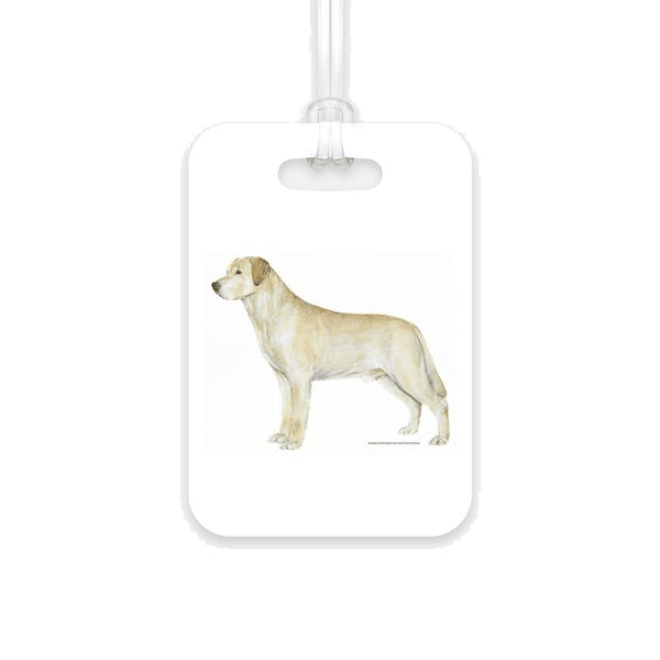 Labrador Retriever Luggage Tag