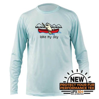 Lake My Day -  Long-Sleeve Performance T-Shirt