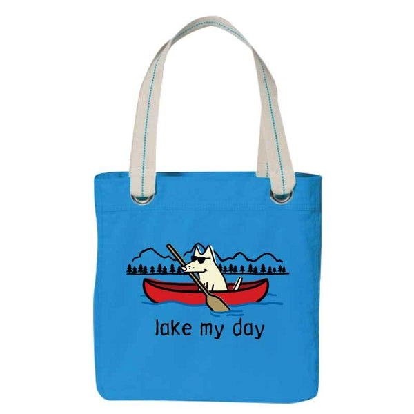 Lake My Day - Canvas Tote