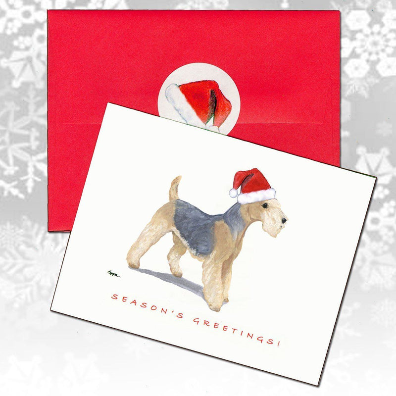 Lakeland Terrier Christmas Note Cards