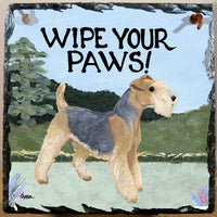 Lakeland Terrier Slate Sign