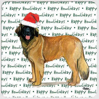 "Leonberger ""Happy Howlidays"" Coaster"
