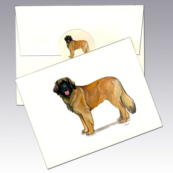 Leonberger Note Cards