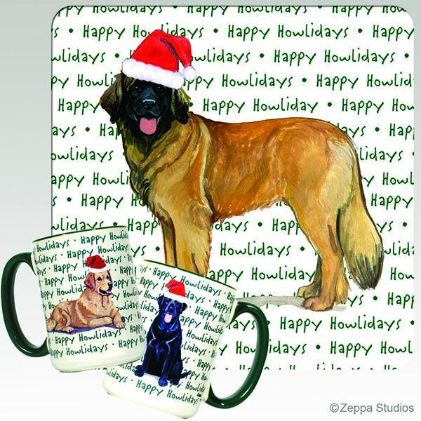 Leonberger Holiday Mug
