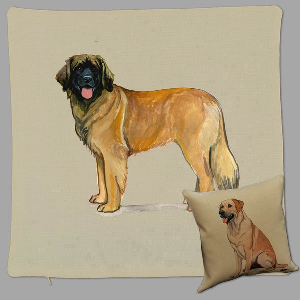 Leonberger Pillow Cover