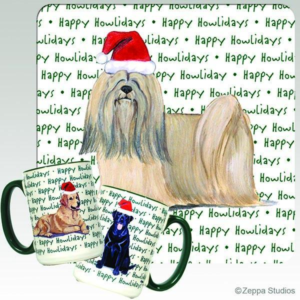 Lhasa Apso Holiday Mug