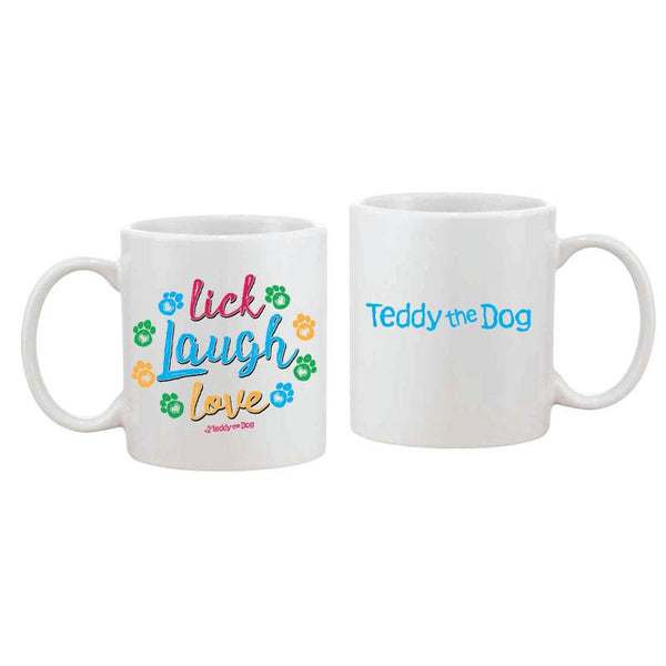 Lick, Laugh, Love - Coffee Mug