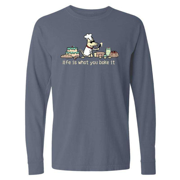 Life Is What You Bake It  - Classic Long-Sleeve T-Shirt