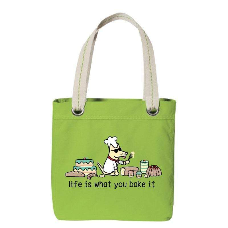 Life Is What You Bake It - Canvas Tote