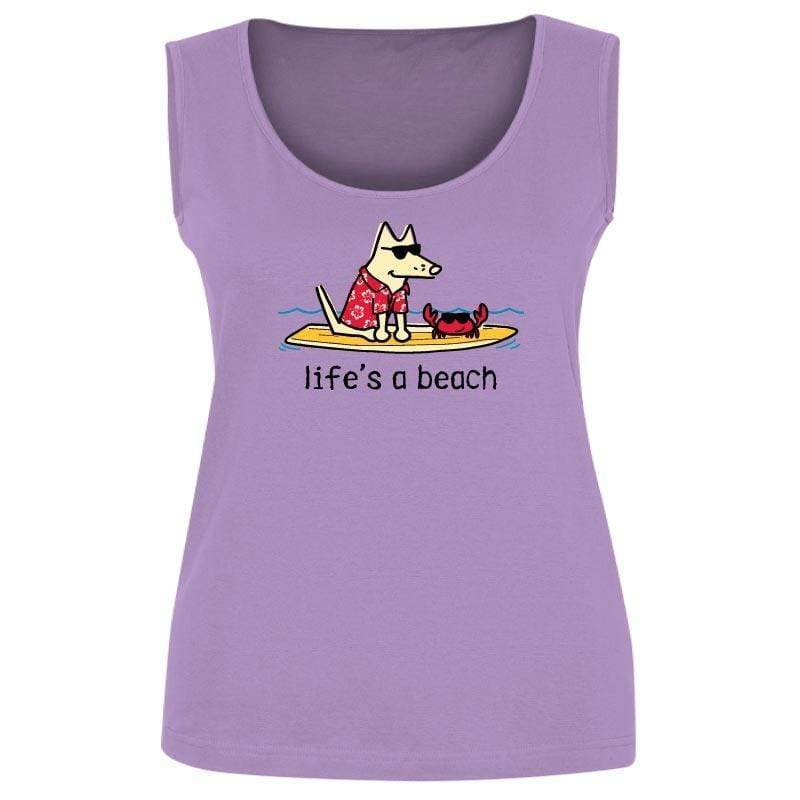 Life's A Beach - Ladies Tank Top