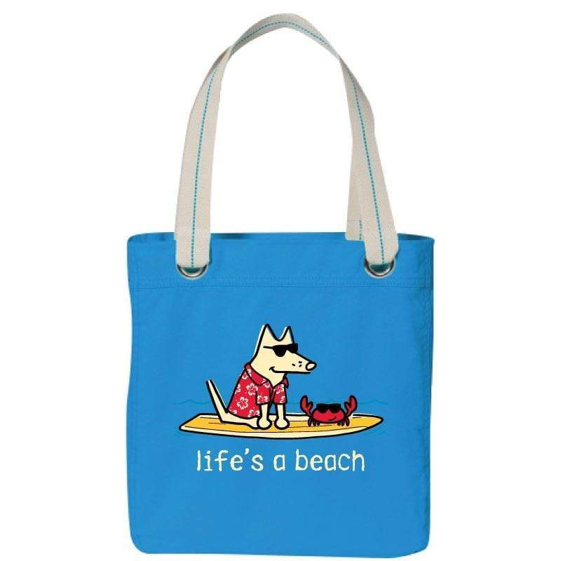 Life's A Beach - Canvas Tote