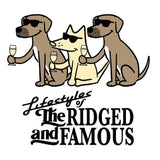 Lifestyles Of The Ridged And Famous - Coffee Mug