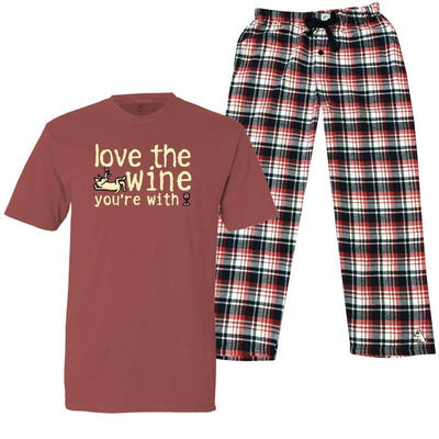 Love The Wine You're With - Pajama Set