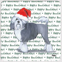 "Lowchen ""Happy Howlidays"" Coaster"