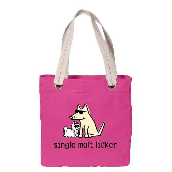 Single Malt Licker - Canvas Tote
