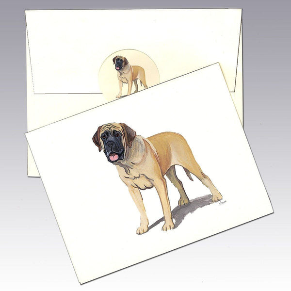 Mastiff (English) Note Cards