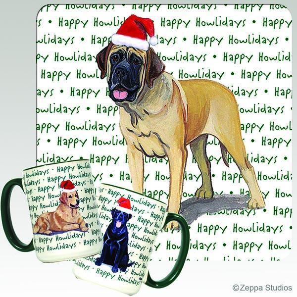 Mastiff Holiday Mug