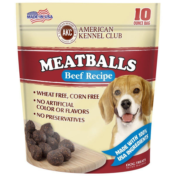Meatballs Beef Recipe Dog Treats