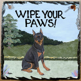 Miniature Pinscher Slate Sign