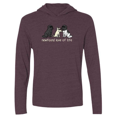 Newfound Love of Life - Long Sleeve  Hoodie