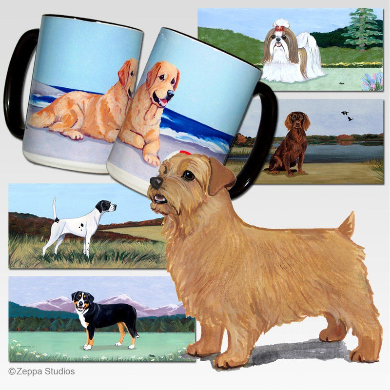 Norfolk Terrier Scenic Mug