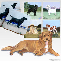 Nova Scotia Duck Tolling Retriever Scenic Coaster