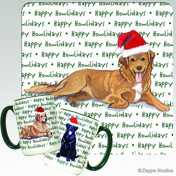 Nova Scotia Duck Tolling Retriever Holiday Mug
