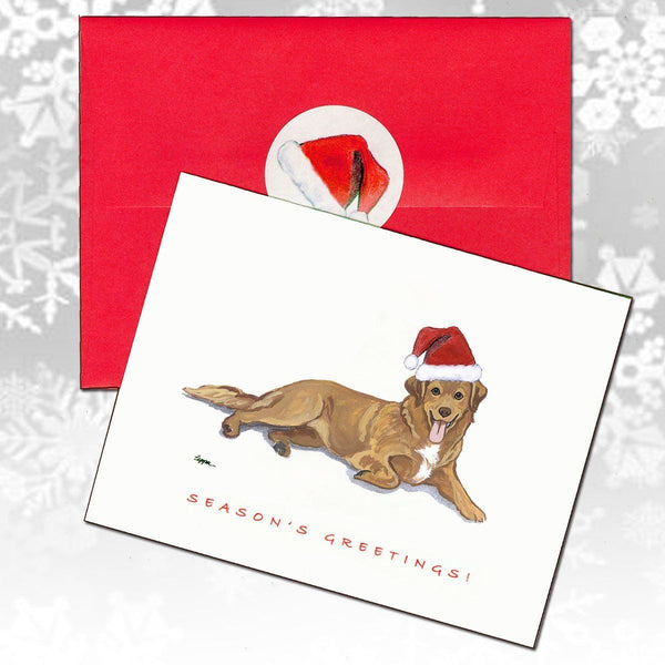 Nova Scotia Duck Tolling Retriever Christmas Note Cards