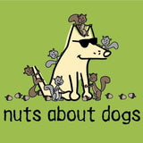 Nuts About Dogs - Canvas Tote
