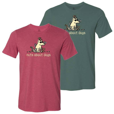 Nuts About Dogs - Lightweight Tee