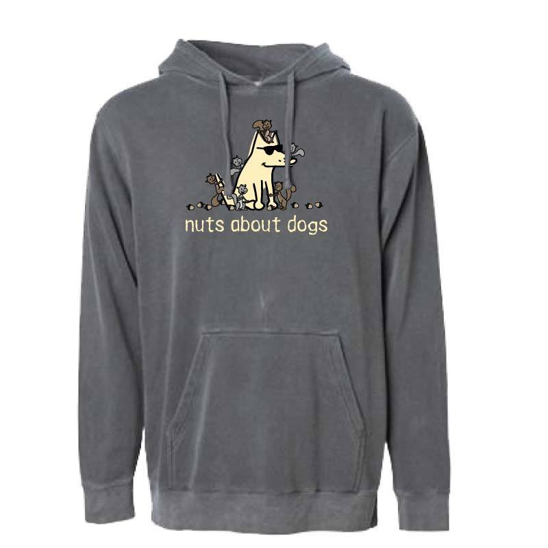 Nuts About Dogs - Sweatshirt Pullover Hoodie