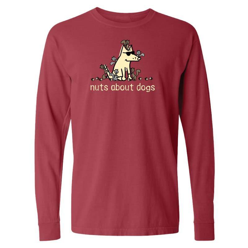 Nuts About Dogs - Classic Long-Sleeve T-Shirt