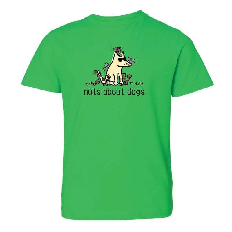 Nuts About Dogs - Youth Short Sleeve T-Shirt