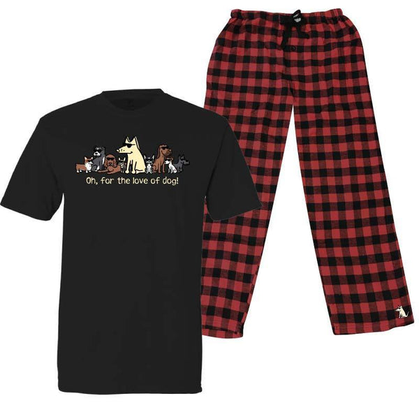 For The Love Of Dogs - Pajama Set