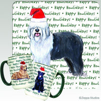 Old English Sheepdog Holiday Mug
