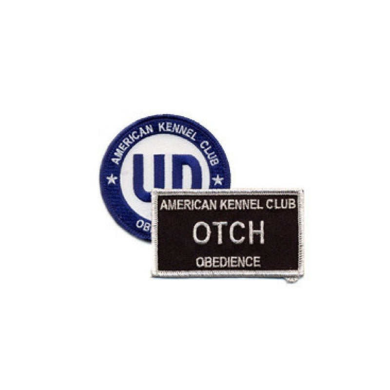 AKC Obedience Title Patches