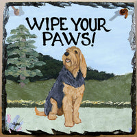 Otterhound Slate Sign