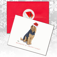 Otterhound Christmas Note Cards