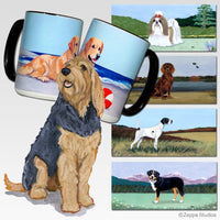 Otterhound Scenic Mug