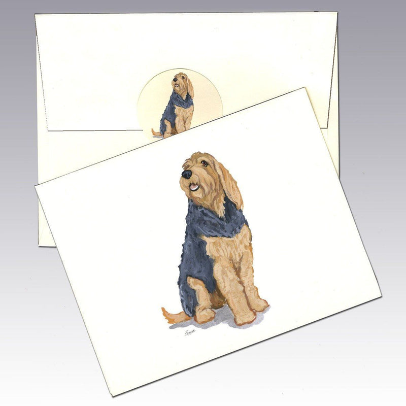 Otterhound Note Cards