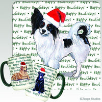 Papillon Holiday Mug