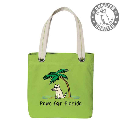 Paws for Florida - Canvas Tote